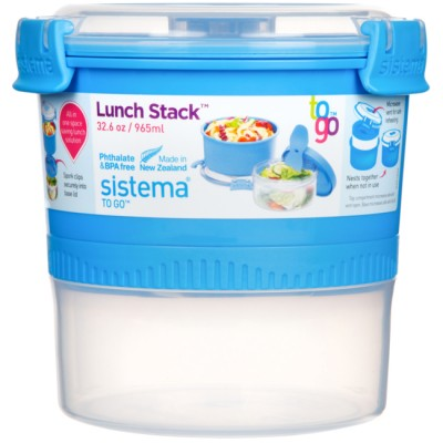 Sistema Lunch Stack To Go 965ml